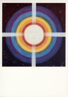 Poster Kosmischer Christus